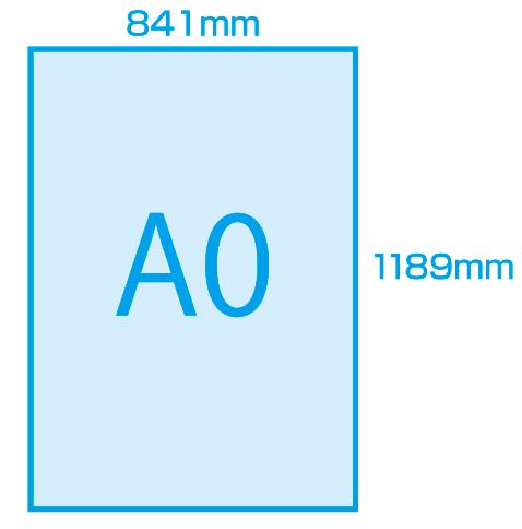 A0サイズの大きさは何センチ?A4...
